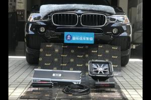 用音乐放松 宝马X5汽车音响改装美国K牌L7