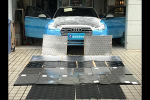 欢乐元素 奥迪A4汽车音响改装德国艾索特PE165.3