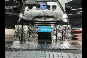 本田奥德赛汽车隔音改装StP CSH隔音―广州卖音乐汽车隔音改装店