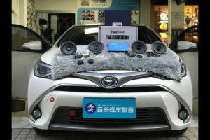 丰田雷凌汽车音响改装德国艾索特MD165―广州卖音乐汽车音响改装店