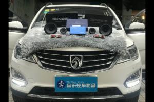 宝骏560汽车音响改装英国创世纪G65.3―广州卖音乐汽车音响改装店