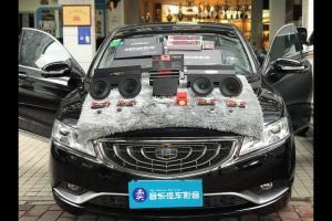 吉利博瑞汽车音响改装英国创世纪GT65.2―广州卖音乐汽车音响改装店